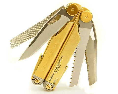 TTC Modified Tool – Midas Touch Edition – Based on Leatherman Wave