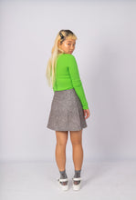 Load image into Gallery viewer, Linen Eyelet Skirt