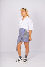 Load image into Gallery viewer, Gingham Panel Skirt