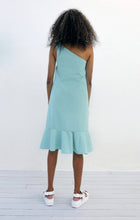 Load image into Gallery viewer, One Shoulder Frill Dress