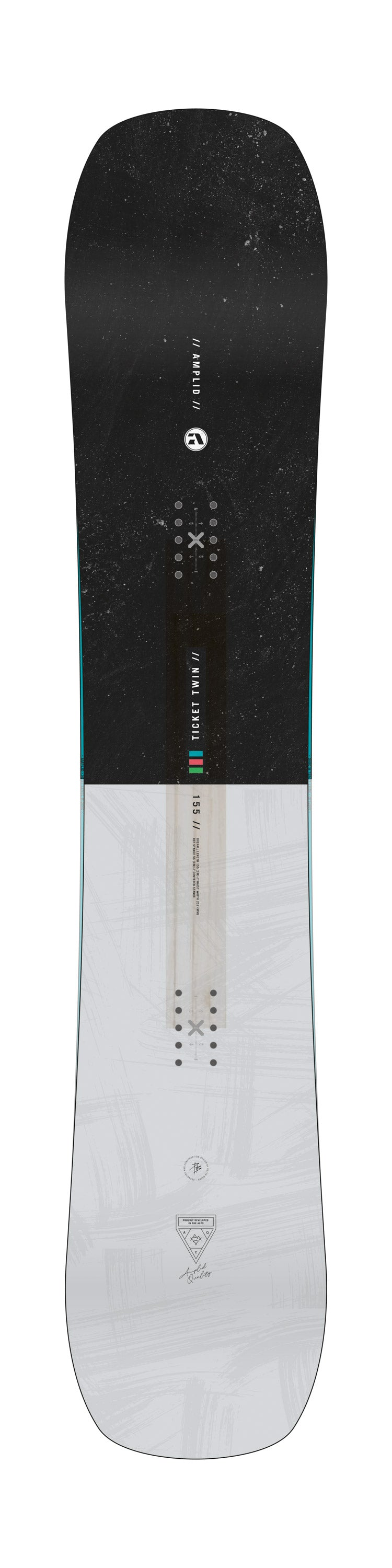 AMPLID SNOWBOARDS TICKET TWIN