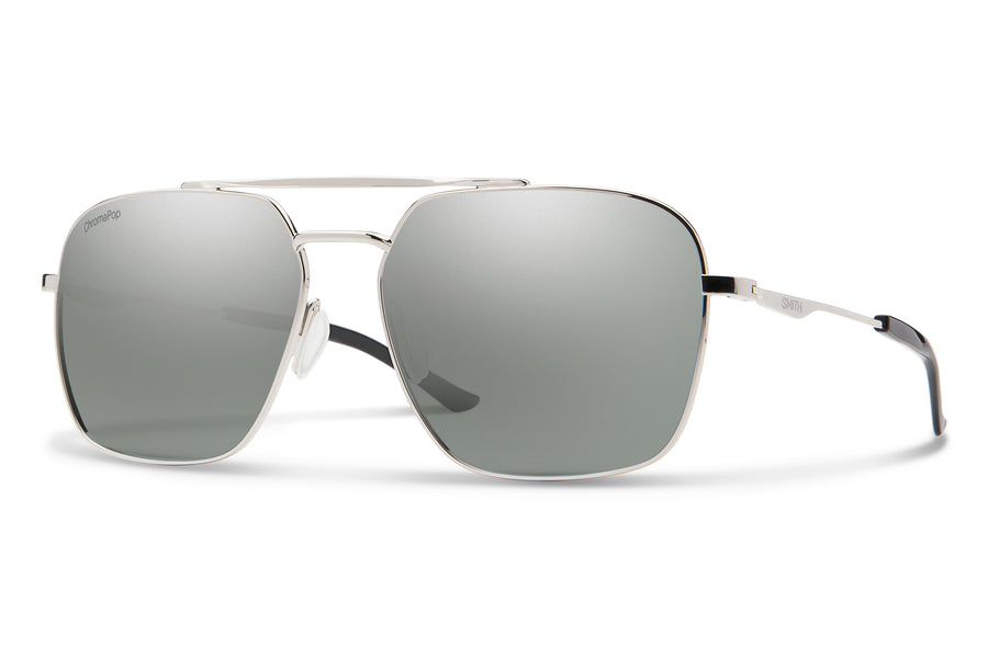 Smith Sunglasses Double Down Silver