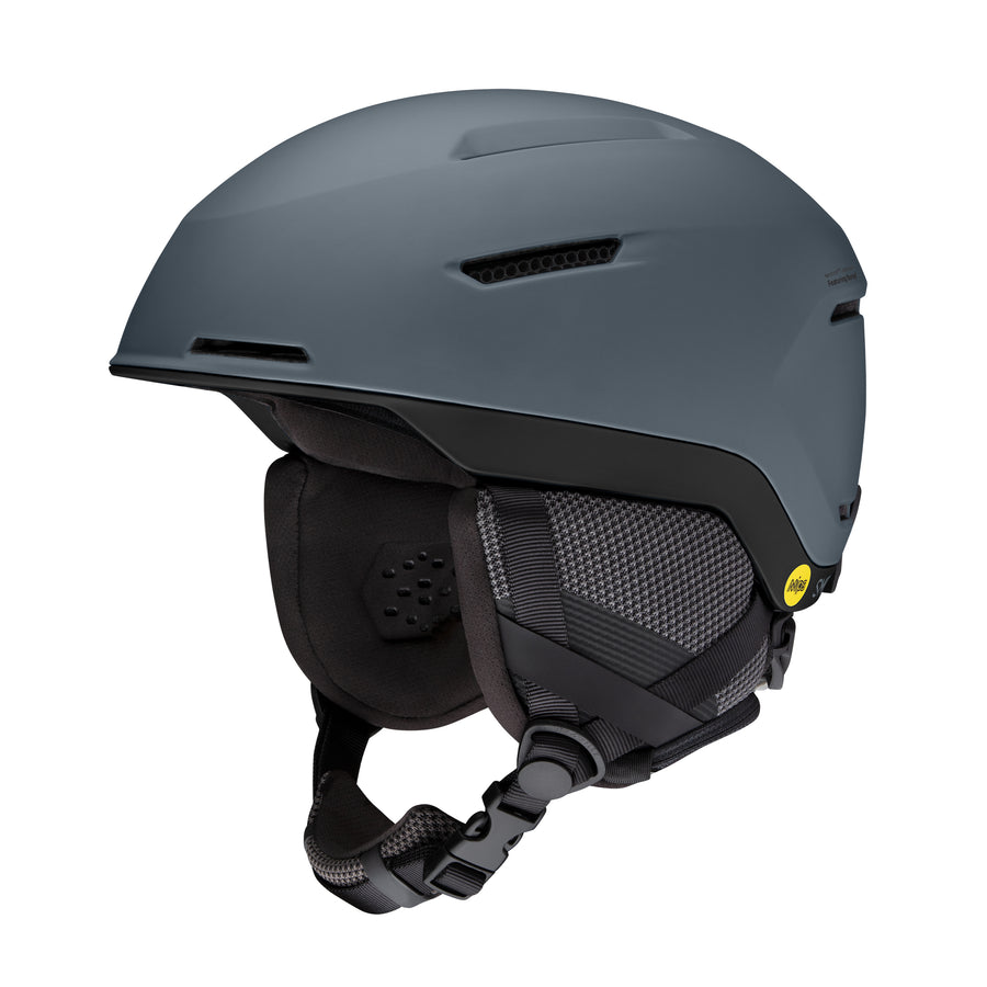 Smith Snow Helmet Altus Mips MATTE CHARCOAL BLACK