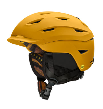 Smith Snow Helmet Level Mips MATTE AMBER TEXTILE