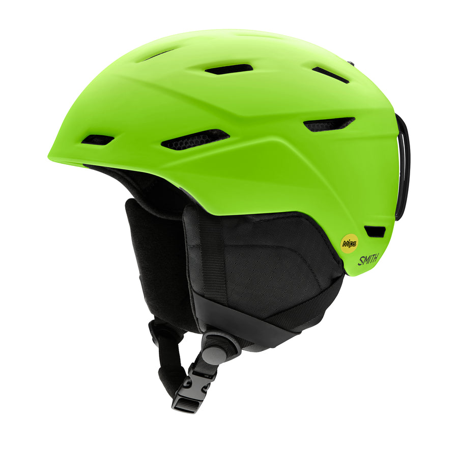 Smith Snow Helmet Mission Mips MATTE LIMELIGHT