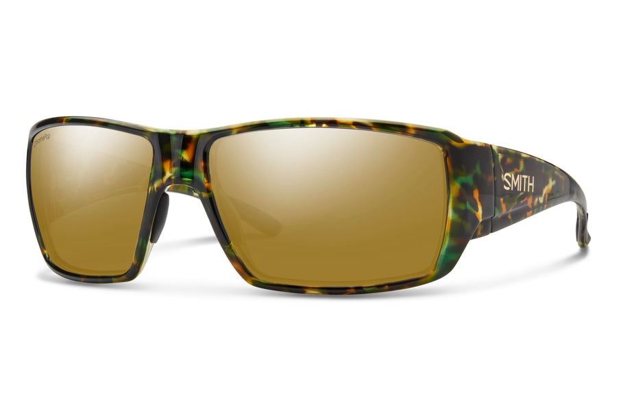 Smith Sunglasses Guides Choice FLECKED GREEN TORTOISE