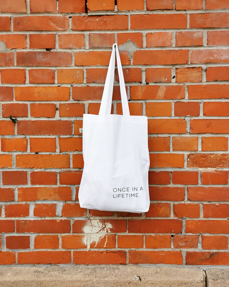 2020.clothing Fashion Bag ONCE IN A LIFETIME.