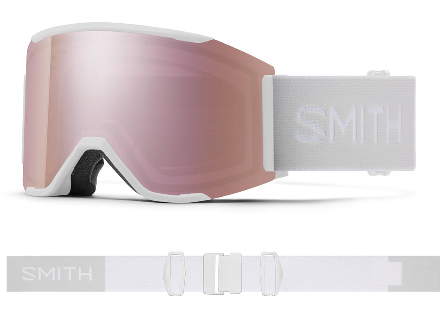 Smith Snow Goggle Squad Mag™ WHITE VAPOR