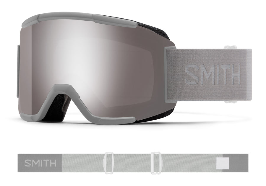 Smith Snow Goggle Squad CLOUDGREY