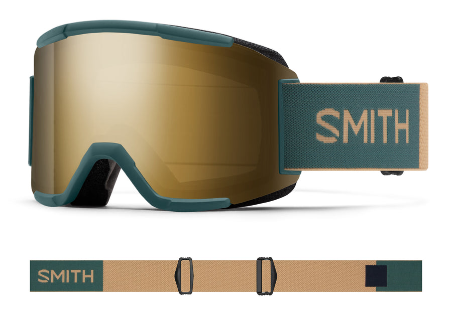 Smith Snow Goggle Squad SPRUCE SAFARI