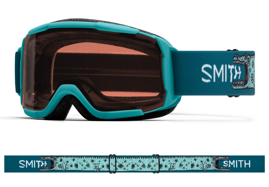 Smith Snow Goggle Daredevil PEACOCK ALLIGATORS