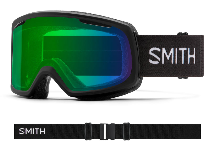 Smith Snow Goggle Riot BLACK