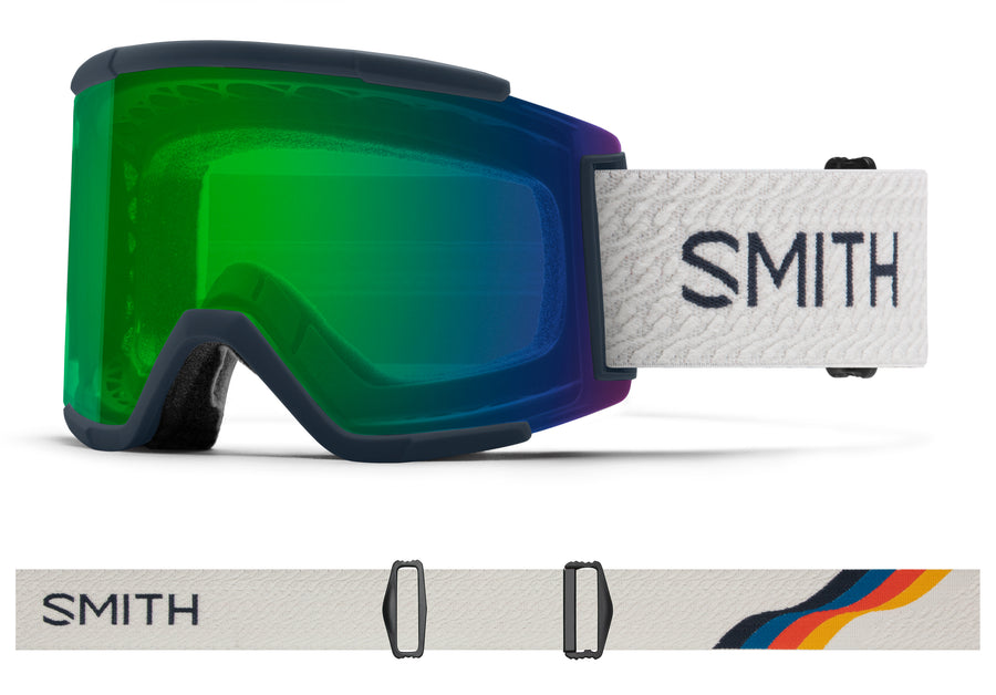 Smith Snow Goggle Squad XL  FRENCH NAVY MOD