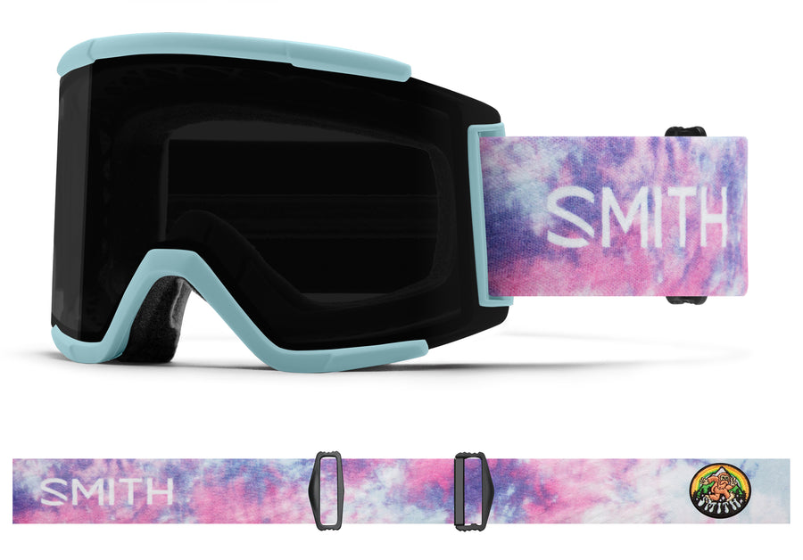 Smith Snow Goggle Squad XL  POLAR TIE DYE