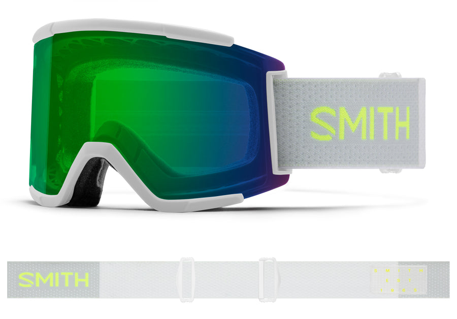 Smith Snow Goggle Squad XL  SPORT WHITE