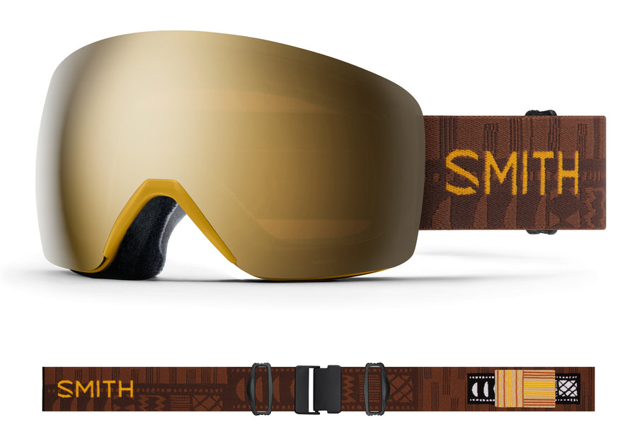 Smith Snow Goggle Skyline AMBER TEXTILE