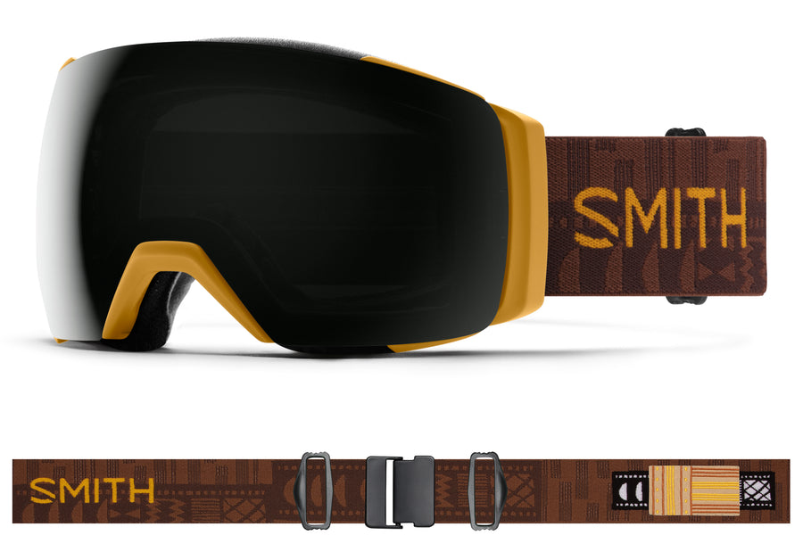 Smith Snow Goggle I/O Mag™ XL AMBER TEXTILE