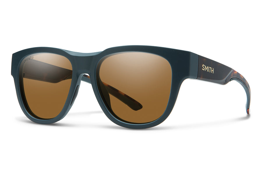 Smith Sunglasses Rounder Deep Forest Tort
