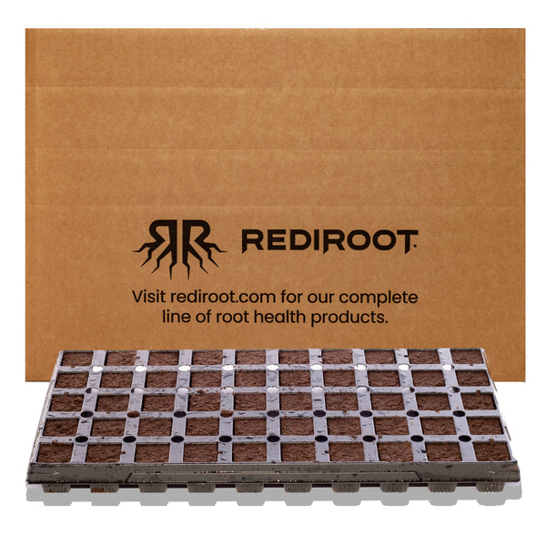 RediRooted Aerating Plugs by Jiffy - 50-Cell Tray