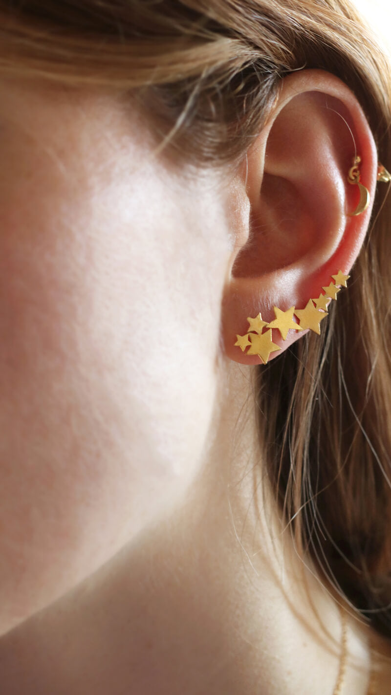 Curated Ear: Stacked Earrings
