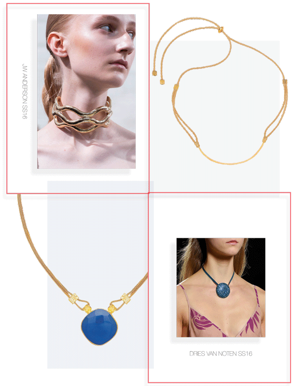 Ottoman Hands Jewellery Trend Edit Choker Necklaces