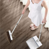 """50% Discount""Stainless Steel ""Built-In Comb"" Rotating Broom"