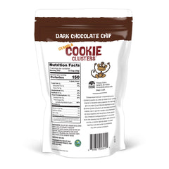 Dark Chocolate Chip Granola Cookie Clusters 7.5 oz Bag