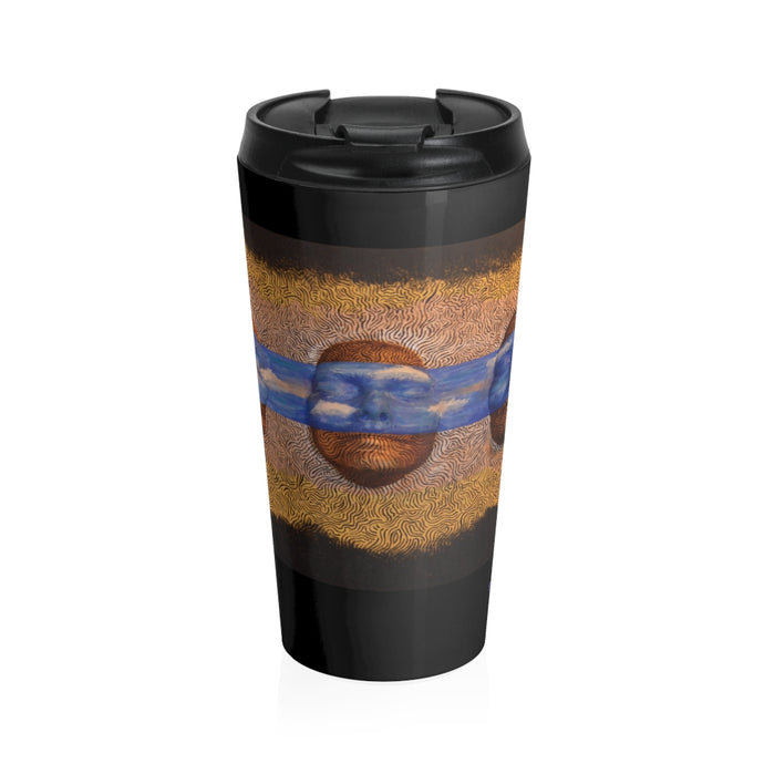 Dreamers by David A Garcia Stainless Steel Travel Mug