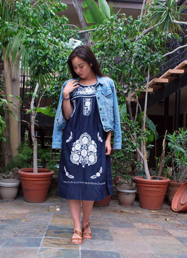 Authentic Puebla Vintage Dress