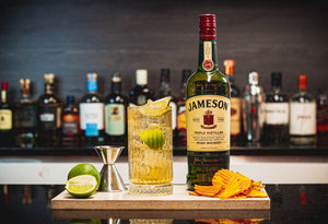 JAMESON, GINGER & LIME