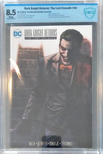 Load image into Gallery viewer, Dark Knight Returns: The Last Crusade - Lee Bermejo Variant (8.5 CBCS)