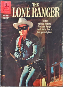 Lone Ranger #135 (1960) - Dell Exciting Adventure - LOWER/MID Grade
