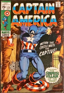 Captain America #125 MID + 132, 147 LOW (Set of 3)