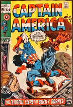 Load image into Gallery viewer, Captain America #125 MID + 132, 147 LOW (Set of 3)