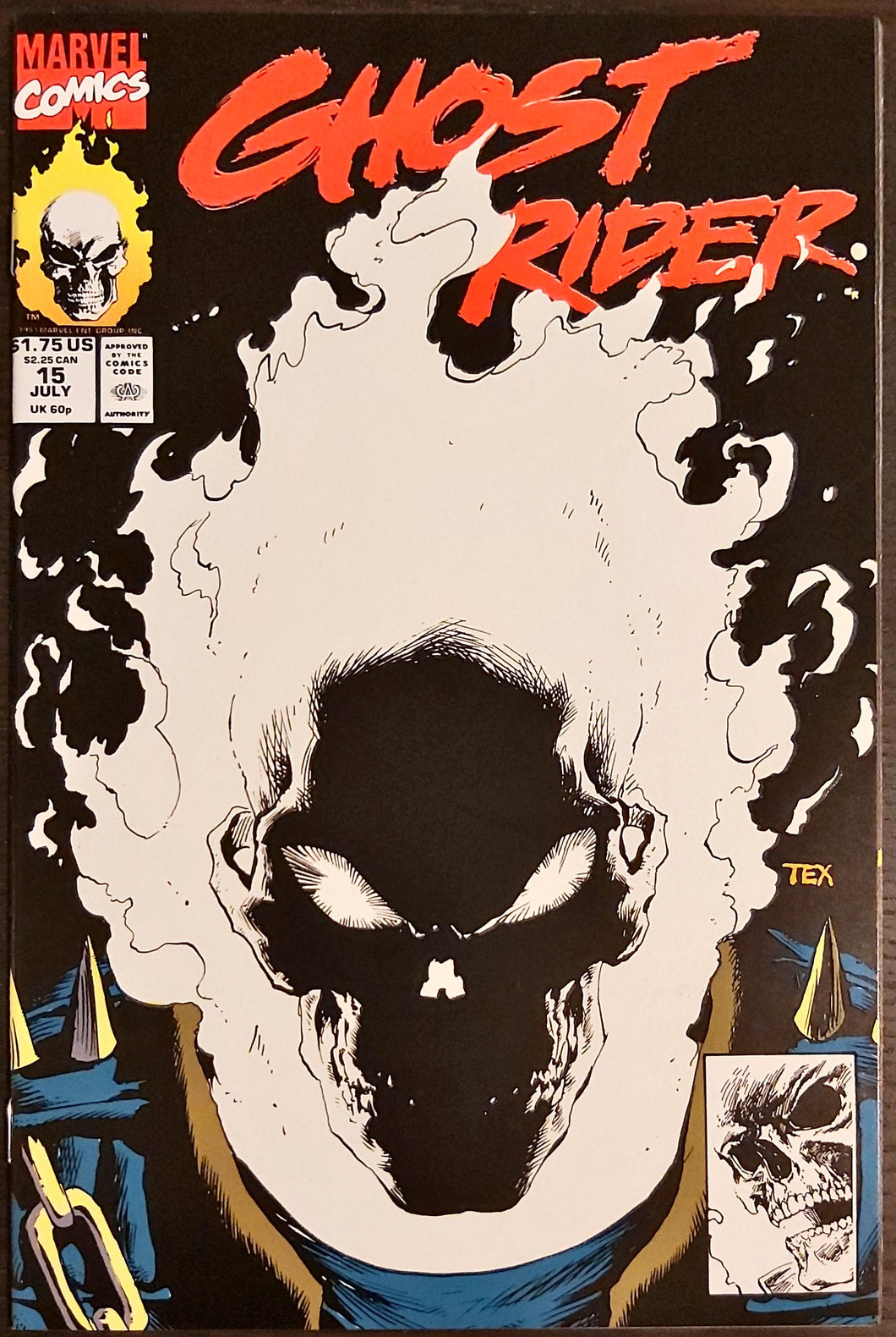Ghost Rider #15 - GLOW IN THE DARK - HIGH/NM Grade