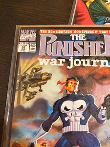 Punisher War Journal #5, 30, 33, 35, 37, 39 - HIGH/NM Grade