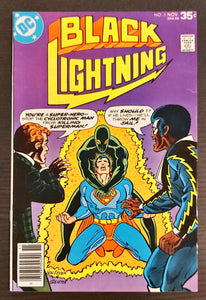 Black Lightning #5-6 - Volume 1 - MID/HIGHER Grade