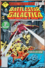 Load image into Gallery viewer, Battlestar Galactica #1-3 (1979) Marvel - HIGH Grade