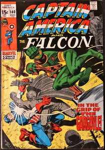 Captain America #140 (1971) - LOWER Grade