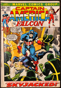 Captain America #145 (1971) - LOW/MID Grade