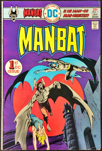 Manbat #1 (1975) - MID/HIGHER Grade