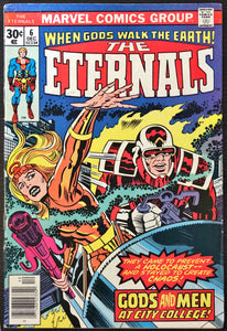 The Eternals #6 (1976) - MID Grade