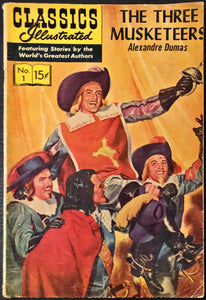 Classics Illustrated #1 (1966) - Three Musketeers - MID Grade