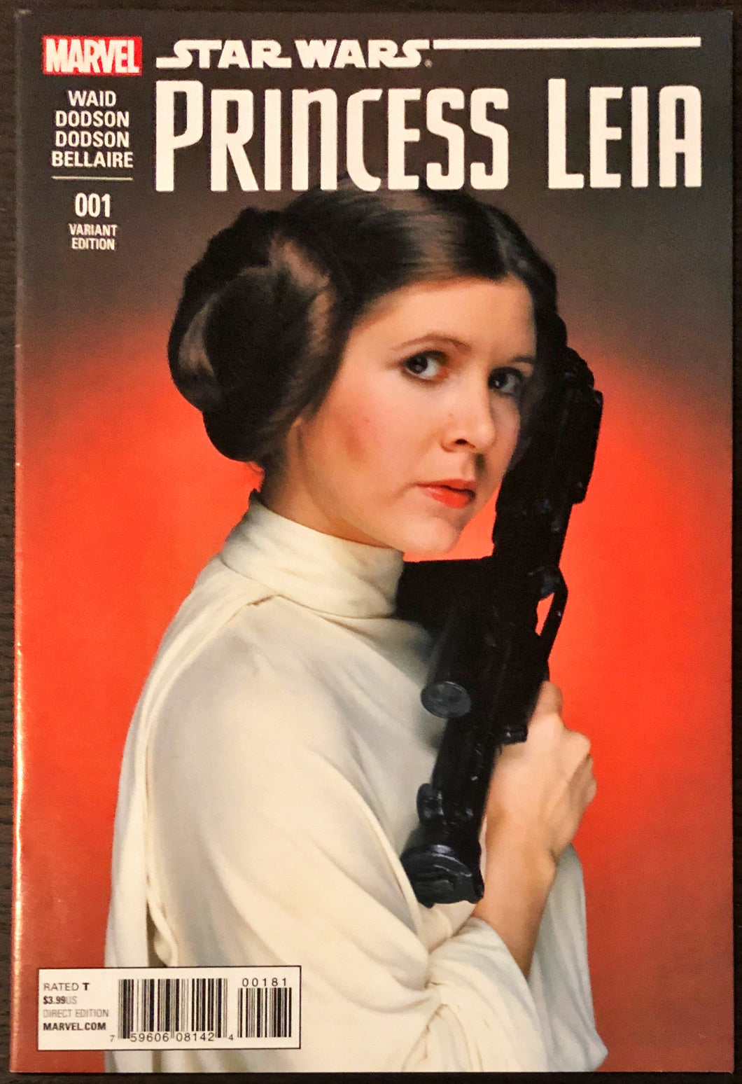 Star Wars: Princess Leia #1 (Photo Variant) - HIGH/NM Grade