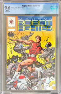 Magnus: Robot Fighter #0 (1992) Mail-In Edition - 9.6 CBCS
