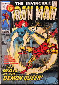 Iron Man #42 (1971) - LOWER Grade