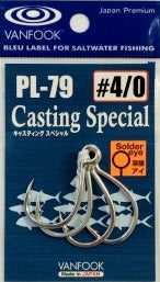Vanfook Casting Special Single Hook PL-79