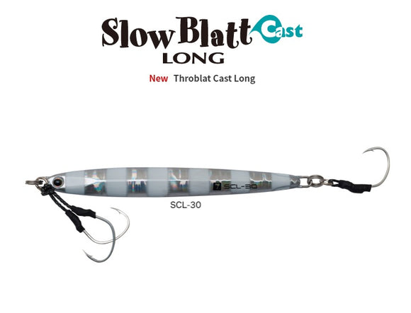 ZetZ Slow Blatt Cast LONG 10gm & 15gm