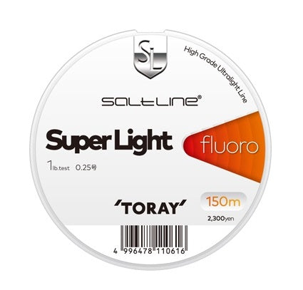 S75P Toray Saltline Super Light Fluorocarbon Line 150m