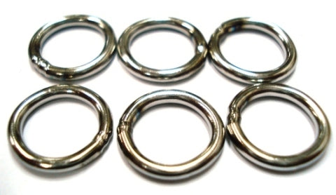 Ten Mouth (TM9) 221 Welded Solid Ring 100pcs Bulk Pack
